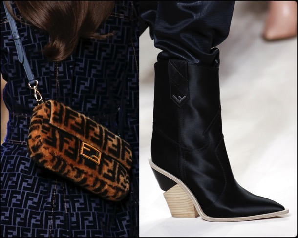 fendi, bags, shoes, fall 2018, trends, mfw, bolsos, zapatos, tendencia, invierno 2018, looks, details