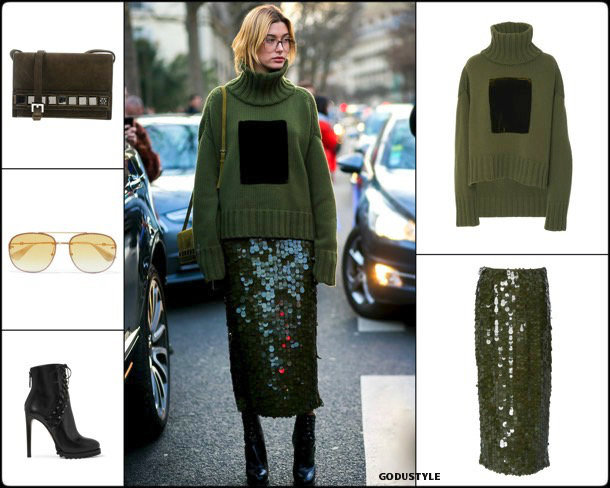 hailey balwin, sequin, lentejuelas, look, street, style, fashion, trend, details, style, shopping, outfits, tendencias
