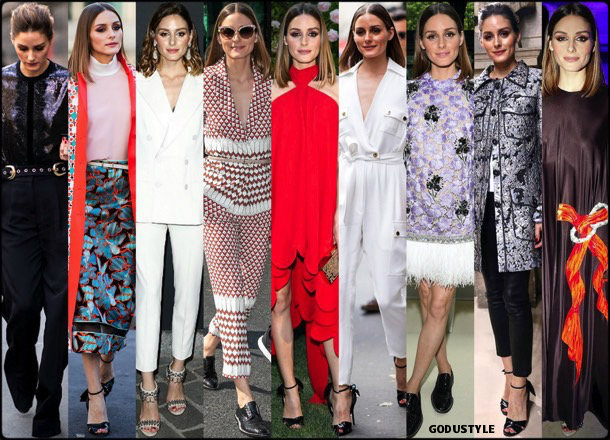 olivia palermo, looks, street style, valentino, dior, elie saab, couture, fall 2019, style, details, outfits, fashion shows