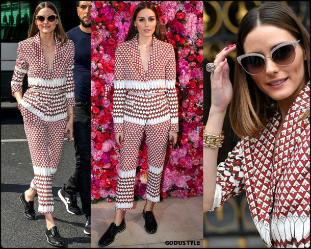 olivia palermo, looks, street style, schiaparelli, couture, fall 2019, style, details, shopping, outfits, fashion weeks