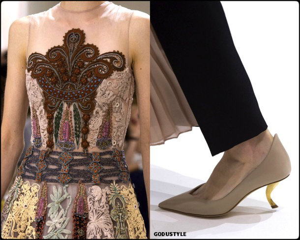 christian dior, couture, fall 2018, looks, style, details, haute couture, alta costura, otoño 2018, shoes, beauty look