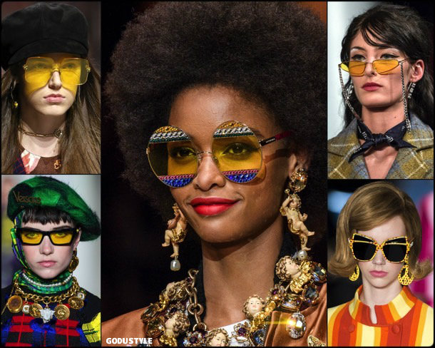 yellow, sunglasses, gafas sol, amarillo, looks, street style, fall 2018, trend, details, shopping, otoño 2018, tendencias
