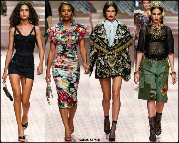 dolce gabbana, spring 2019, looks, style, details, mfw, runways, verano 2019, shoes, bags, accessories