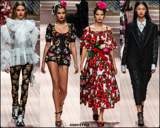 dolce gabbana, spring 2019, dgdna, looks, style, details, mfw, runways, verano 2019, shoes, bags, accessories
