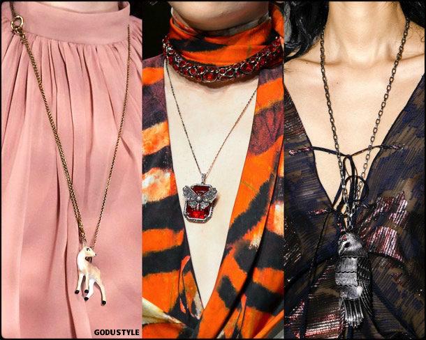 animal, necklaces, collares, jewelry, joyas, fall 2018, winter 2019, otoño 2018, invierno 2019, trends, tendencias