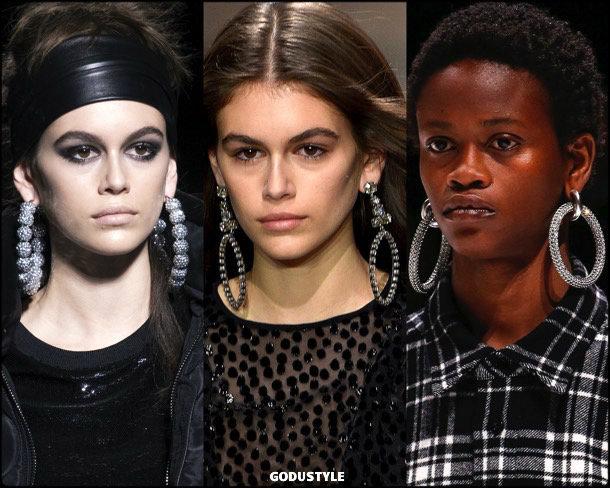 hoop earrings, pendientes, aros, jewelry, joyas, fall 2018, winter 2019, otoño 2018, invierno 2019, trends, tendencias