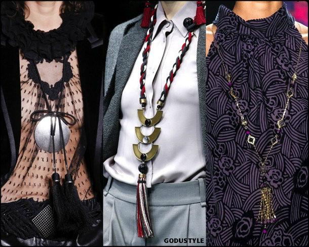 tassel, necklace, borlas, collares, jewelry, joyas, fall 2018, winter 2019, otoño 2018, invierno 2019, trends, tendencias