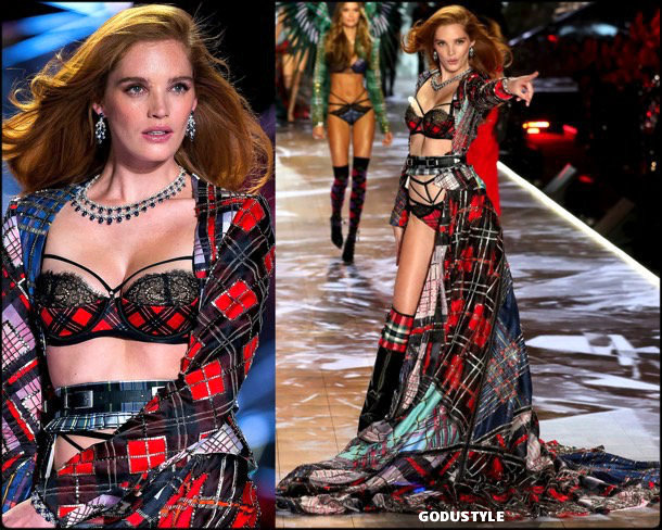alexina graham, victorias secret, 2018, fashion show, desfile, victorias secret 2018, models, look, style, details