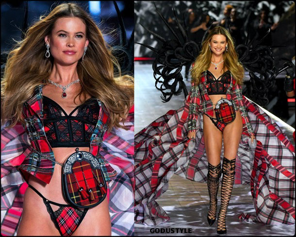 behati prinsloo, victorias secret, 2018, fashion show, desfile, victorias secret 2018, models, look, style, details, lenceria