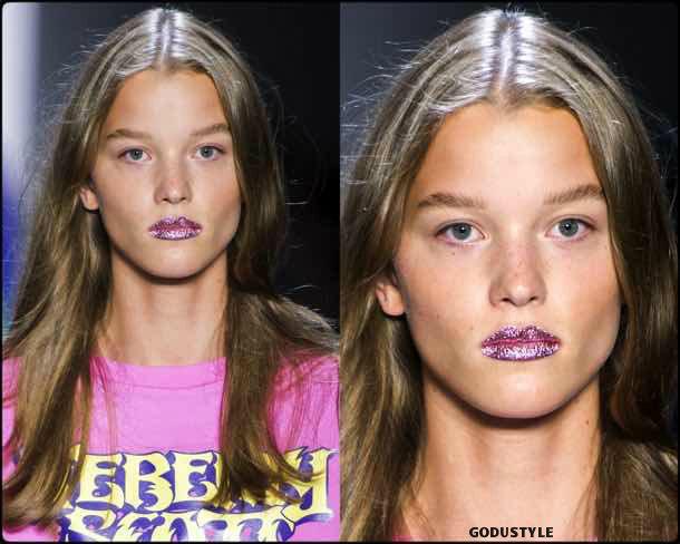 jeremy scott, beauty, belleza, beauty look, makeup, party, look, spring 2018, trends, verano 2018, tendencias