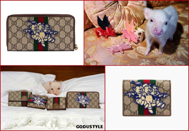 gucci, fashion, chinese new year, pig year, capsule collection, shopping, 2019, collection, look, style