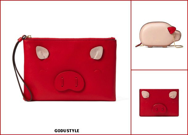 kate spade, fashion, chinese new year, pig year, capsule collection, shopping, 2019, collection, look, style