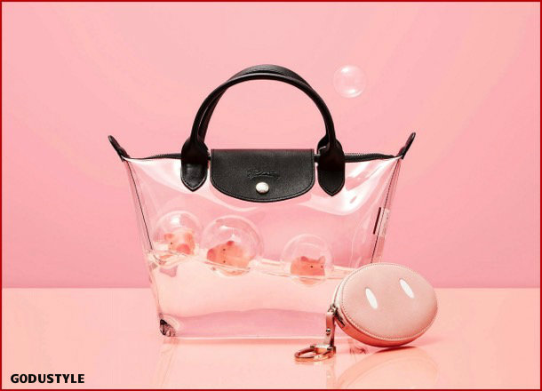 longchamp, fashion, chinese new year, pig year, capsule collection, shopping, 2019, collection, look, style