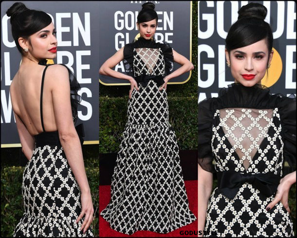sofia-carson-golden-globes-2019-look-globos-oro-style-details-godustyle