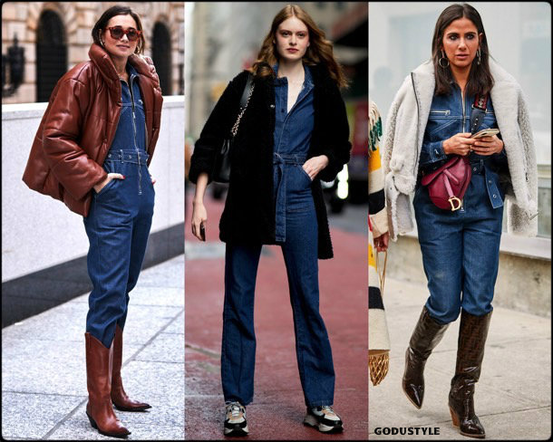 denim-jumpsuit-street-style-nyfw-fall-2019-trends-look-style-tendencias-godustyle