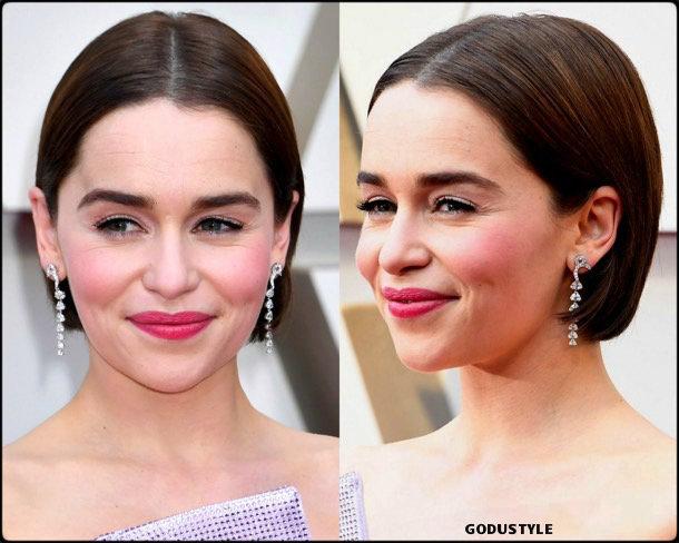 emilia clarke, oscar 2019, red carpet, best, fashion, look, beauty, style, details, celebrities, review, alfombra roja