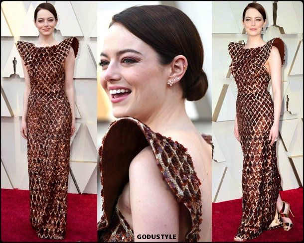 emma-stone-oscars-2019-red-carpet-best-dressed-look-style-details-godustyle