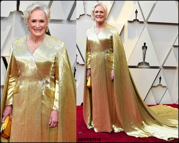 glenn close, oscar 2019, red carpet, best, fashion, look, beauty, style, details, celebrities, review, alfombra roja