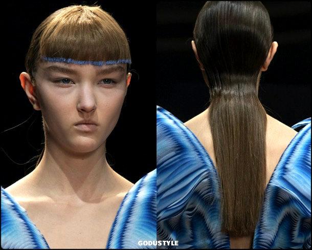 iris van herpen, beauty, look, makeup, belleza, maquillaje, couture, spring 2019, verano 2019, style, details