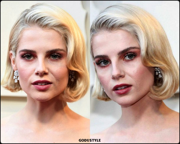 lucy boynton, oscar 2019, red carpet, best, fashion, look, beauty, style, details, celebrities, review, alfombra roja