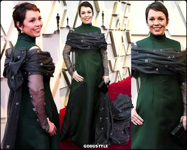 olivia colman, oscar 2019, red carpet, best, fashion, look, beauty, style, details, celebrities, review, alfombra roja