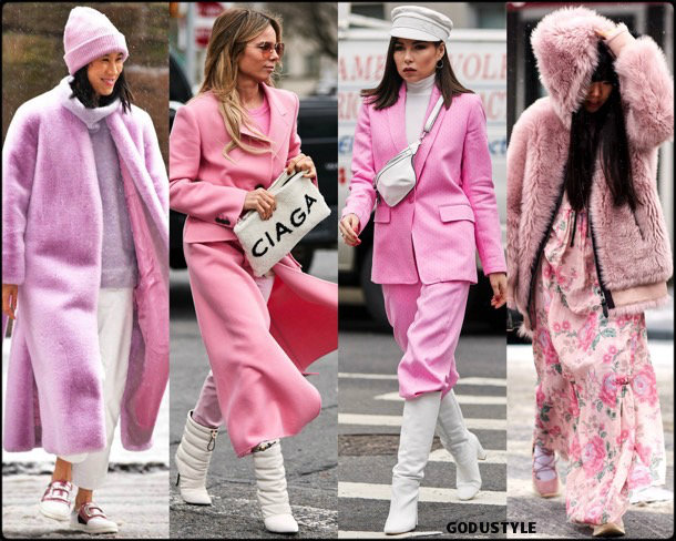 pink, fashion, influencers, street style, nyfw, fall 2019, trends, look, details, tendencias, rosa, moda