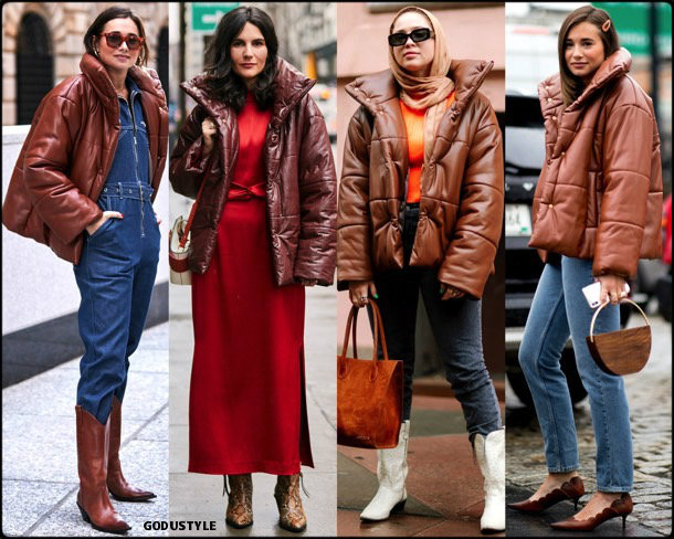 nanushka, puffer, fashion, influencers, street style, nyfw, fall 2019, trends, look, details, tendencias, moda