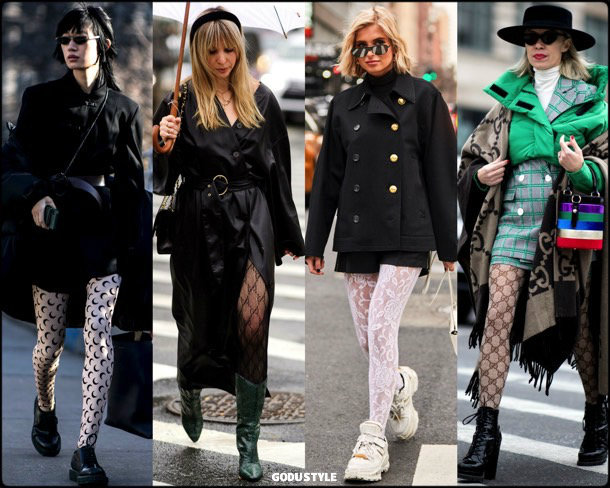 tights, fashion, influencers, street style, nyfw, fall 2019, trends, look, details, tendencias, medias, moda