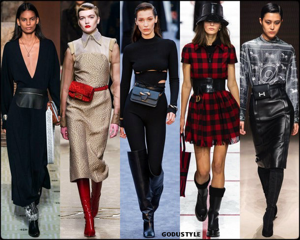 belt bag, bolso cinturón, fall 2019, fashion, trends, tendencias, moda, otoño 2019, invierno 2020, look, style, details, fashion weeks
