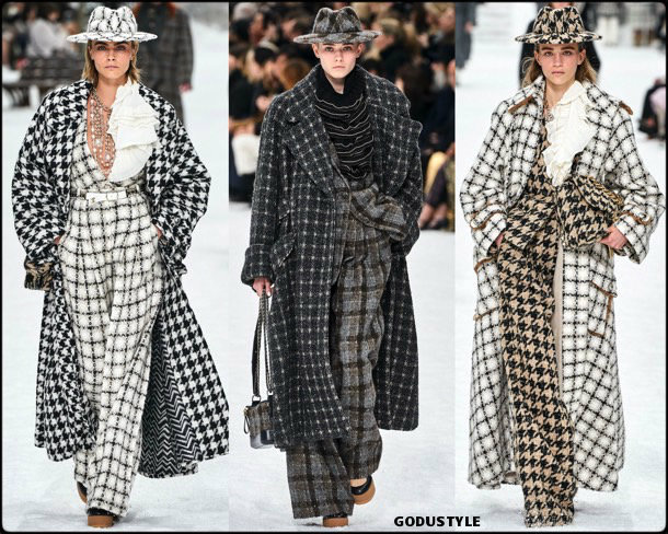 chanel, fall 2019, invierno 2020, collection, pfw, look, style, details, shoes, jewelry, accessories, beauty, karl lagerfeld, review