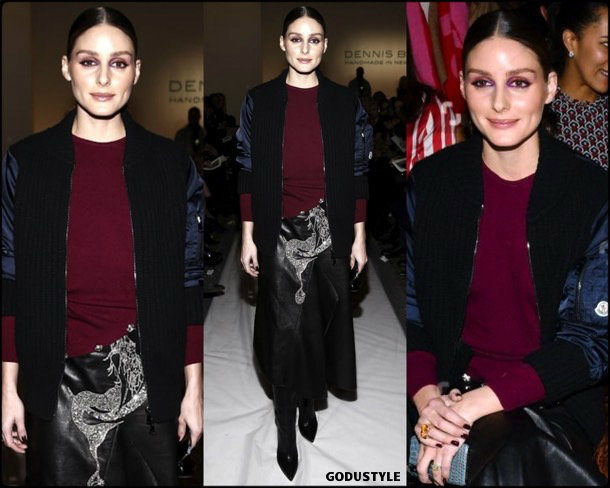 olivia palermo, dennis basso, fashion, looks, fall 2019, nyfw, style, details, street style, outfits, front row