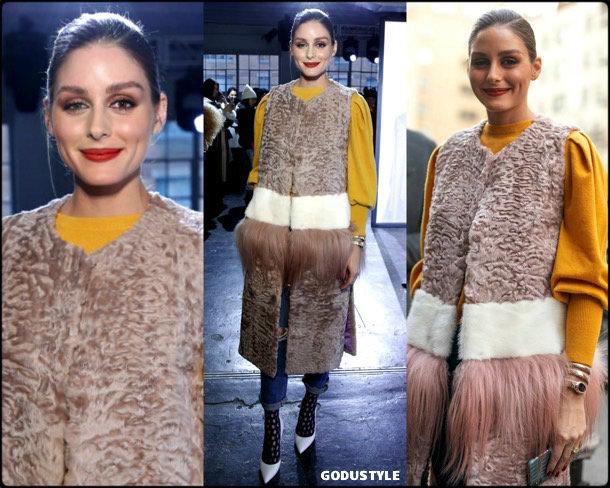 olivia palermo, jonathan simkhai, fashion, looks, fall 2019, nyfw, style, details, street style, outfits, front row