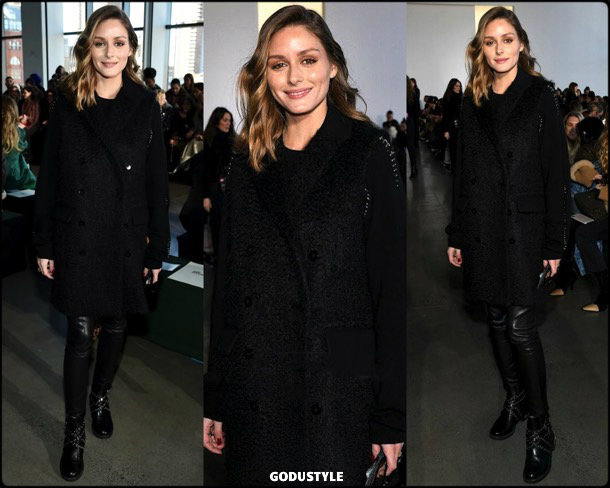 olivia palermo, self portrait, fashion, looks, fall 2019, nyfw, style, details, street style, outfits, front row