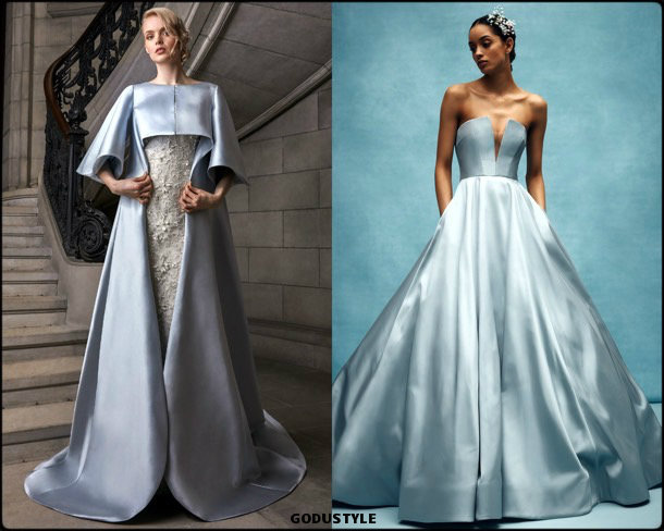 color, bridal, spring 2020, trends, novias, verano, 2020, tendencias, look, style, details, wedding dress, vestidos