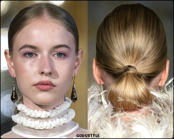 christhophe josse, fashion, beauty, look, couture, fall 2019, style, details, makeup, hair, trends, belleza, moda, otoño 2019, tendencias