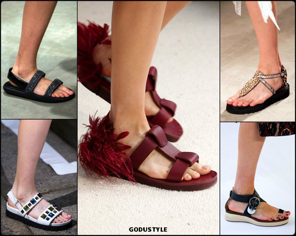 chunky sandals, shoes, summer 2019, sandalias planas, zapatos, verano 2019, trends, tendencias, zapatos moda, fashion shoes