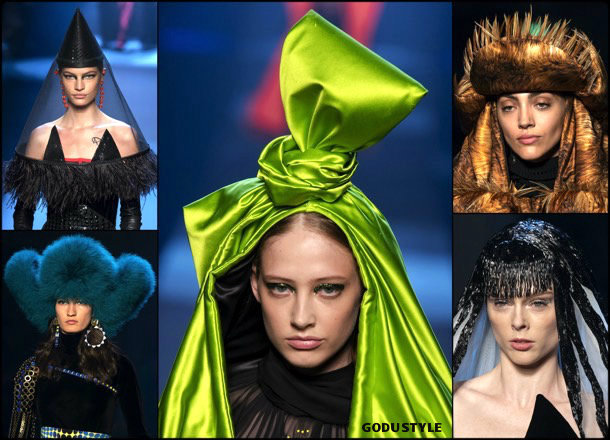 jean paul gaultier, fashion, beauty, look, couture, fall 2019, style, details, makeup, hair, trends, belleza, moda, otoño 2019, tendencias