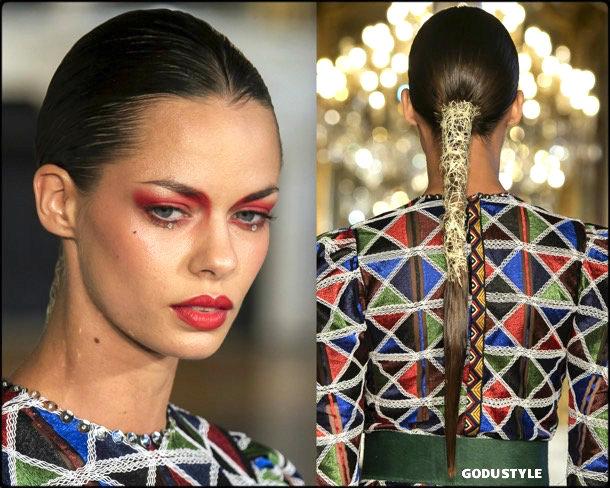 patrick pham, fashion, beauty, look, couture, fall 2019, style, details, makeup, hair, trends, belleza, moda, otoño 2019, tendencias