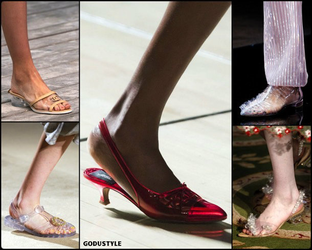 pvc, shoes, summer 2019, metacrilato, zapatos, verano 2019, trends, tendencias, zapatos moda, fashion shoes