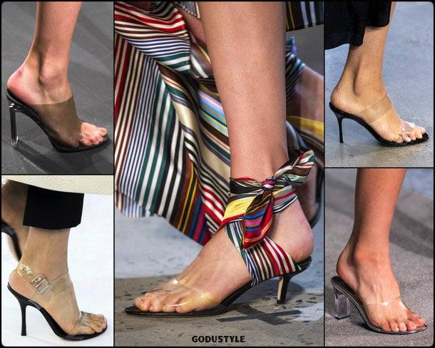 pvc, shoes, summer 2019, metacrilato, zapatos, verano 2019, trends, tendencias, zapatos moda, fashion shoes