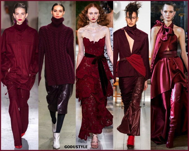 biking red, fashion, color, fall 2019, winter 2020, trend, look, style, details, colores, moda, otoño 2019, invierno 2020, tendencias, pantone