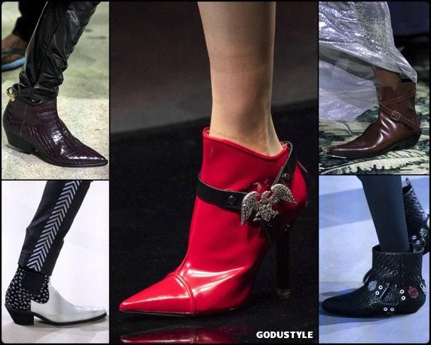 cowboy boots, fashion, shoes, fall 2019, trends, botas cowboy, zåpatos, moda, invierno 2020, tendencias, runway, pasarela