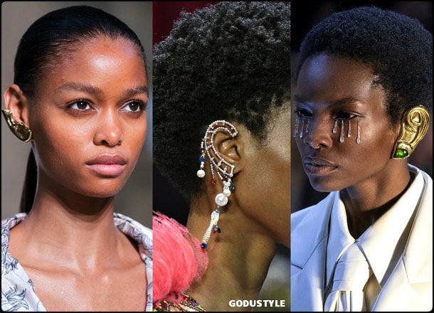 ear cuff, jewelry, trends, fall 2019, winter 2020, fashion, look, style, details, joyas, tendencias, otoño 2019, invierno 2020, moda, design, diseño