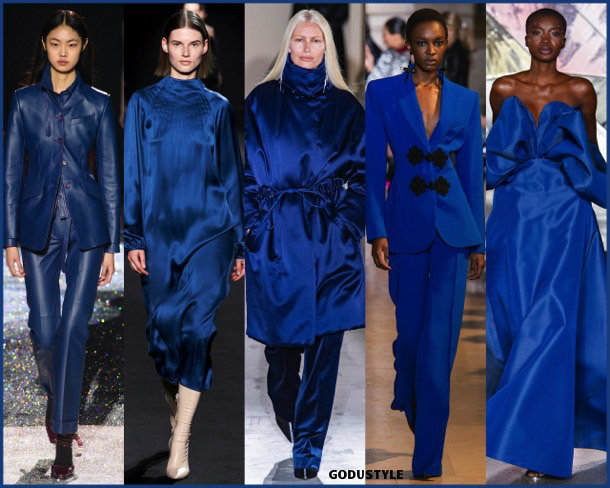 galaxy blue, fashion, color, fall 2019, winter 2020, trend, look, style, details, colores, moda, otoño 2019, invierno 2020, tendencias, pantone