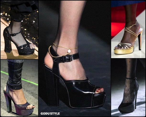 platforms, fashion, shoes, fall 2019, trends, plataformas, zåpatos, moda, invierno 2020, tendencias, runway, pasarelas
