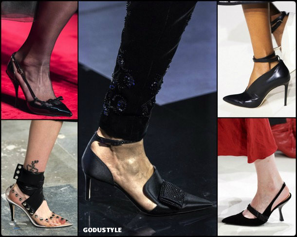 pointy toes, fashion, shoes, fall 2019, trends, punteras afiladas, zåpatos, moda, invierno 2020, tendencias, runway, pasarelas