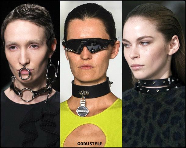 punk choker, jewelry, trends, fall 2019, winter 2020, fashion, look, style, details, joyas, tendencias, otoño 2019, invierno 2020, moda, design