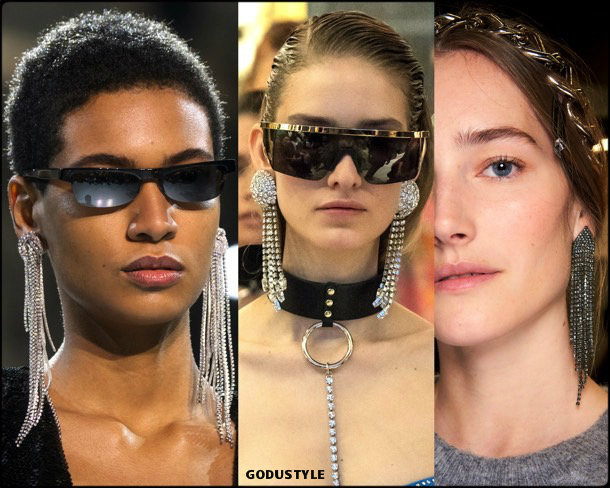 rhinestones earring, jewelry, trends, fall 2019, winter 2020, fashion, look, style, details, joyas, tendencias, otoño 2019, invierno 2020, moda, design