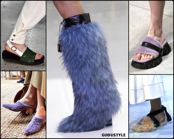shearling details, fashion, shoes, fall 2019, trends, zåpatos, moda, invierno 2020, tendencias, runway, pasarela