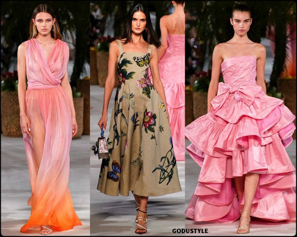 oscar de la renta, spring 2020, fall 2019, nyfw, look, style, details, shoes, beauty, jewelry, otoño 2019, verano 2020, review, moda, accessories